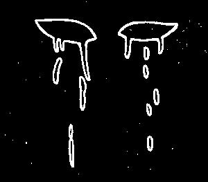Tränen der Sehnsucht